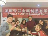 Ronsco 2019 Annual summary Meeting